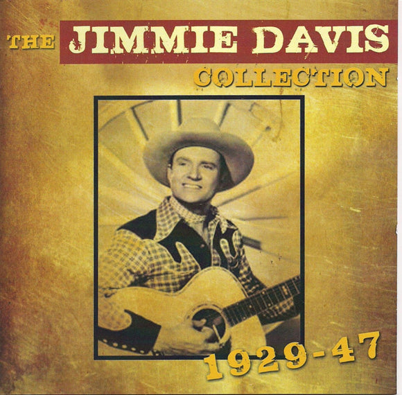 JIMMIE DAVIS 'The Jimmie Davis Collection 1929-47' ADD-3093-2CD