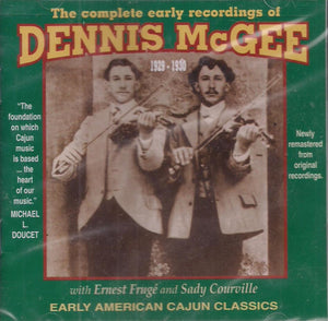 THE COMPLETE EARLY RECORDINGS OF DENNIS MCGEE  YAZOO-2012