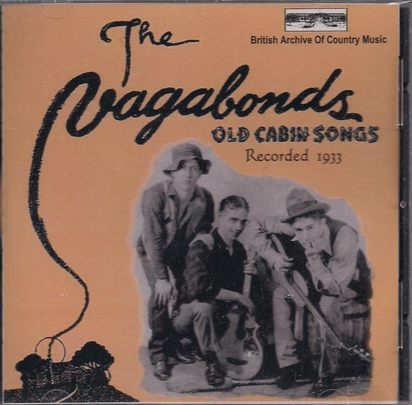 VAGABONDS 'Old Cabin Songs Recorded 1933' BACM-071-CD