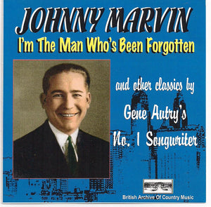 JOHNNY MARVIN 'I'm the Man Who's Been Forgotten' BACM-075-CD