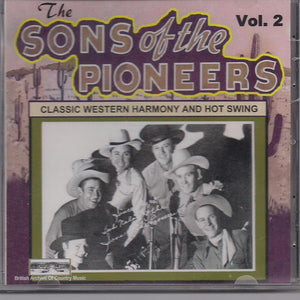 SONS OF THE PIONEERS 'Classic Western Harmony and Hot Swing - Vol. 2' BACM-079-CD