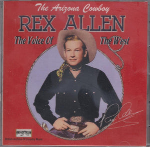 REX ALLEN 'The Voice of the West' BACM-083-CD