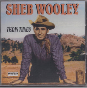 SHEB WOOLEY 'Texas Tango' BACM-090-CD