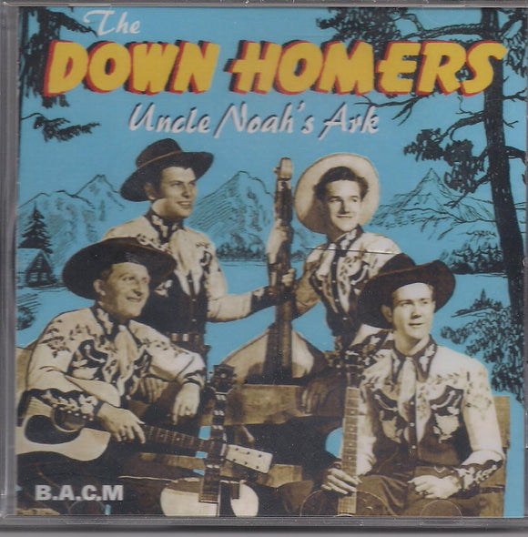 THE DOWN HOMERS 'Uncle Noah's Ark' BACM-092-CD