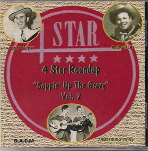"VARIOUS ARTISTS '4 Star Roundup ""Soppin' Up The Gravy"" Volume 2' BACM-110-CD"