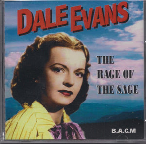 DALE EVANS 'The Rage of the Sage' BACM-153-CD