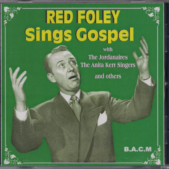 RED FOLEY 'Sings Gospel' BACM-192-CD