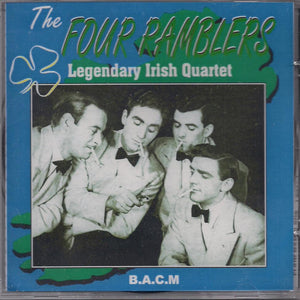 FOUR RAMBLERS 'Legendary Irish Quartet' BACM-195-CD