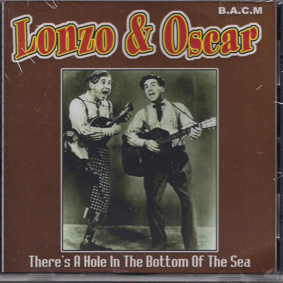 LONZO & OSCAR 'There's A Hole In the Bottom of the Sea' BACM-198-CD