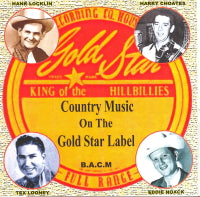 VARIOUS ARTISTS 'Country Music On The Gold Star Label' BACM-326-CD