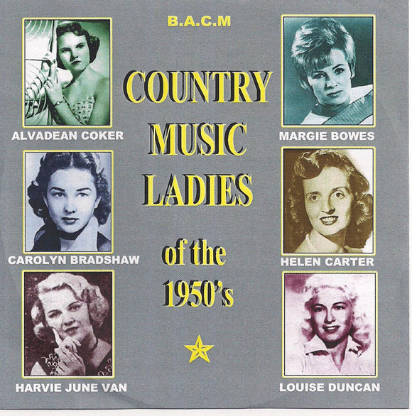 VARIOUS ARTISTS 'Country Music Ladies of the 1950s' BACM-366-CD