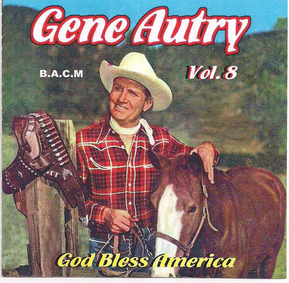 GENE AUTRY 'God Bless America' BACM-377-CD