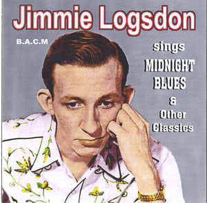 JIMMIE LOGSDON 'sings Midnight Blues & Other Classics'   BACM-416-CD
