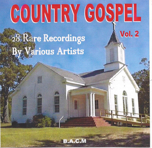 VARIOUS ARTISTS 'Country Gospel Volume 2' BACM-461-CD