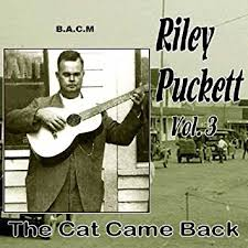 RILEY PUCKETT 'The Cat Came Back Vol. 3'   BACM-590-CD