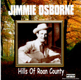 JIMMIE OSBORNE 'Hills Of Roan County' BACM-054-CD