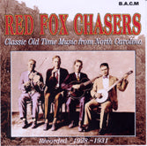 RED FOX CHASERS 'Classic Old Time Music From North Carolina' BACM-108-CD