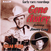 GENE AUTRY 'Texas Blues' BACM-111-CD