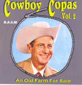 COWBOY COPAS ' Vol. 2 An Old Farm For Sale' BACM-164-CD