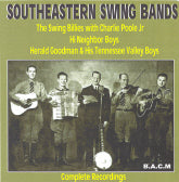 VARIOUS ARTISTS 'Southeastern Swing Bands'