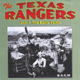 TEXAS RANGERS 'Vol. 1 The Early Years' BACM-285-CD