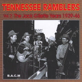 TENNESSEE RAMBLERS 'Vol. 2 The Jack Gillette Years 1939-46' BACM-288-CD