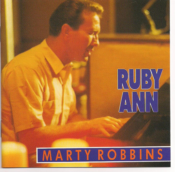 MARTY ROBBINS 'Ruby Ann' BCD-15569-CD