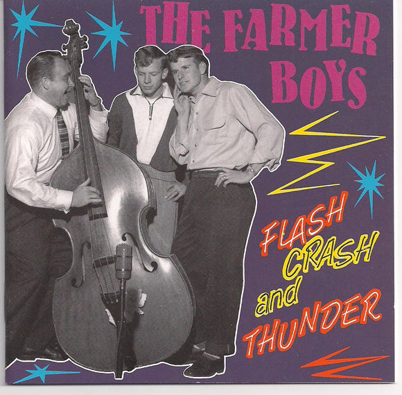 FARMER BOYS 'Flash Crash and Thunder' BCD-15579-CD