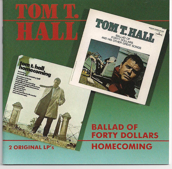 TOM T. HALL 'Ballad of Forty Dollars' BCD-15631-CD