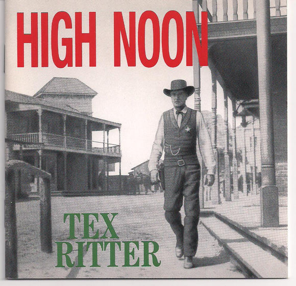 TEX RITTER 'High Noon' (Single CD)