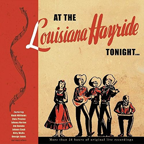 VARIOUS ARTISTS 'At The Lousiana Hayride Tonight' BCD-17370-20CD