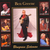 BEN GREENE 'Bluegrass Sideman' BCR-023
