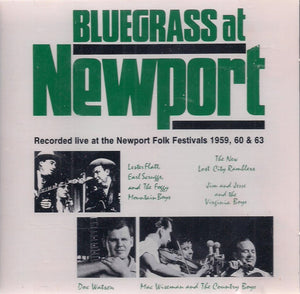 Bluegrass at Newport' VCD-121