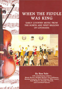 When The Fiddle Was King' by RON YULE BOOK: YULE
