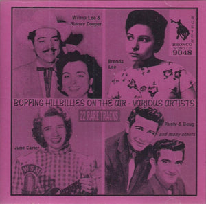 VARIOUS 'Bopping Hillbillies on the Air' CD-9048
