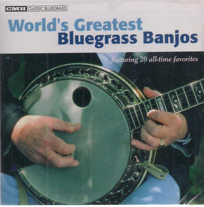 VARIOUS 'World's Greatest Bluegrass Banjos' CMH-8417