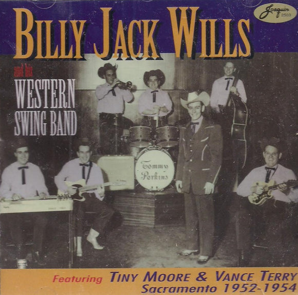 BILLY JACK WILLS & HIS WESTERN STRING BAND 'Billy Jack Wills & His Western String Band' JR-2503