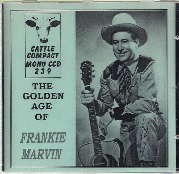 FRANKIE MARVIN 'The Golden Age' CATTLE-239-CD