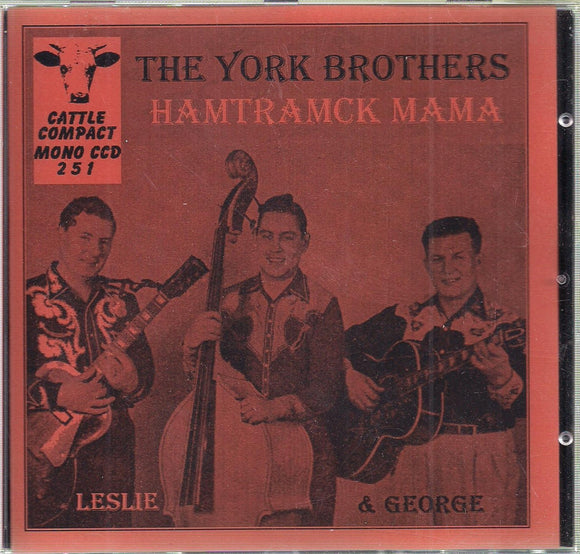 THE YORK BROTHERS 'Hamtramck Mama' CATTLE-251-CD