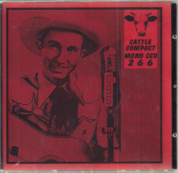 JOHNNY BOND CATTLE-266-CD