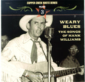 VARIOUS 'Weary Blues: The Songs Of Hank Williams' CCRS-7003-CD