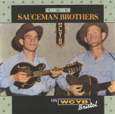 SAUCEMAN BROTHERS 'On WCYB, Bristol' CCCD-0124-CD