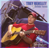 TREY HENSLEY & DRIVIN' FORCE 'Backin' To Birmingham' CCCD-0231-CD