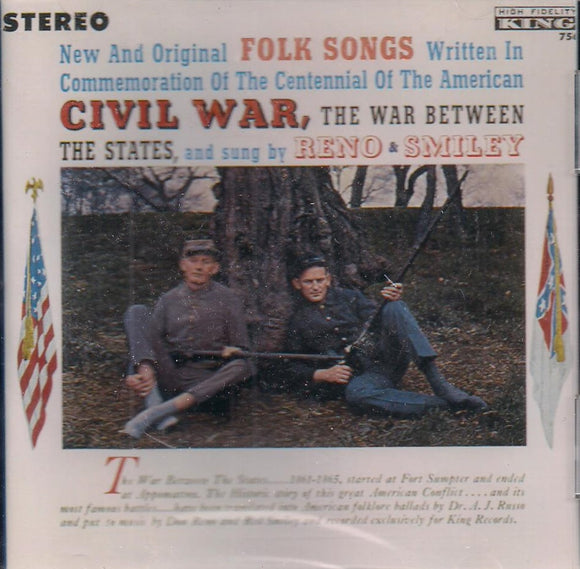 RENO & SMILEY 'Civil War, The War Between The States' KCD-756