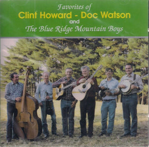 Favorites of Clint Howard, Doc Watson and The Blue Ridge Mountain Boys' OHCD-3010