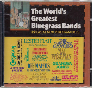 VARIOUS ARTISTS 'The World's Greatest Bluegrass Bands' CMH-5900-CD