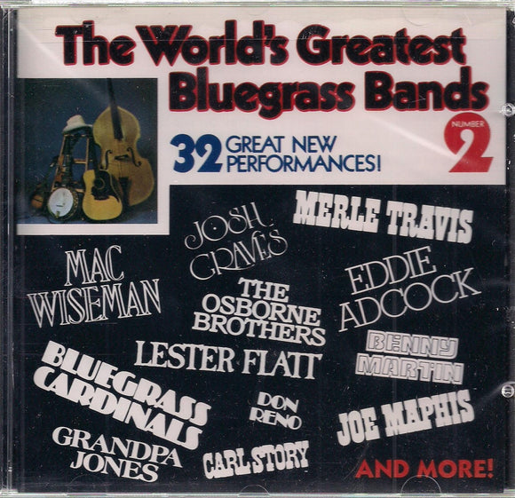 VARIOUS ARTISTS 'The World's Greatest Bluegrass Bands No. 2' CMH-5901-CD