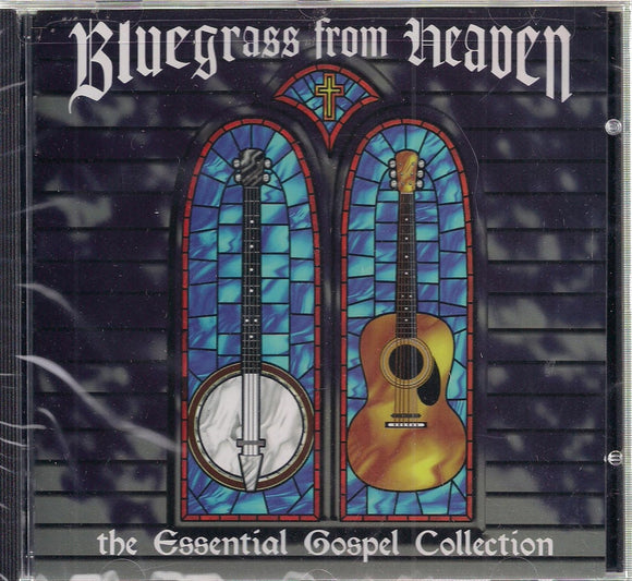 VARIOUS ARTISTS 'Bluegrass from Heaven' CMH-8008-CD