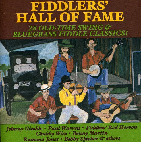 VARIOUS ARTISTS  'Fiddlers' Hall of Fame'                CMH-9037-CD