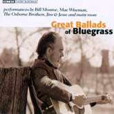 VARIOUS ARTISTS 'Great Ballads Of Bluegrass' CMH-6294-CD